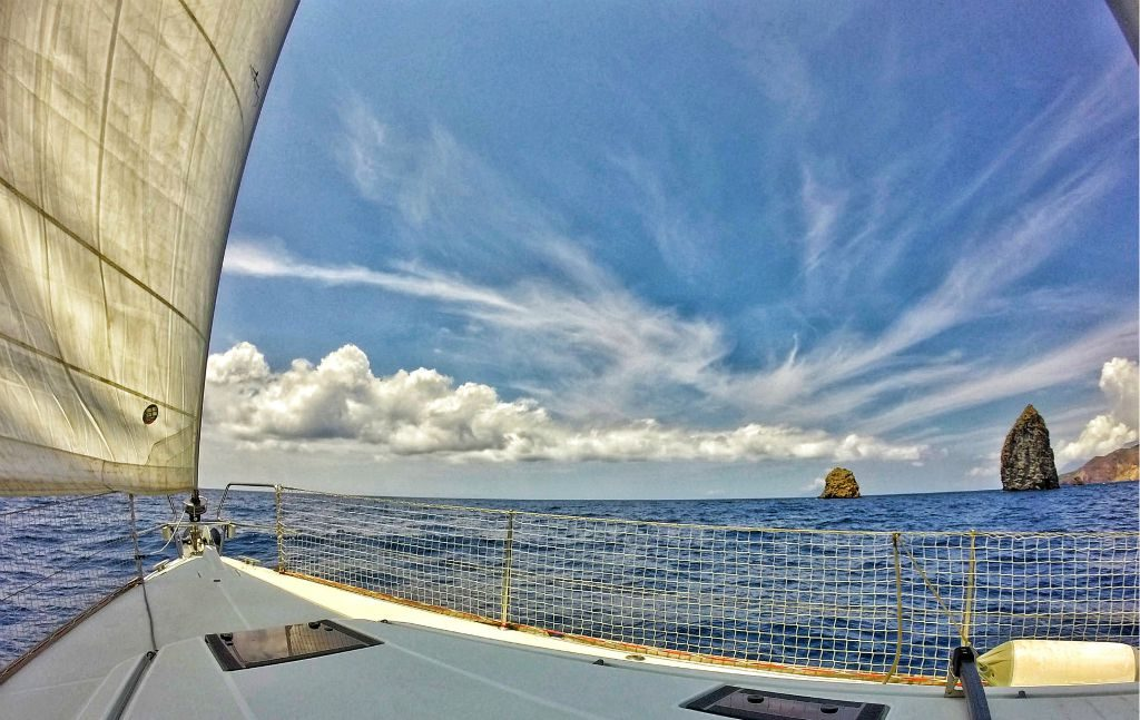 Barca a vela Lipari
