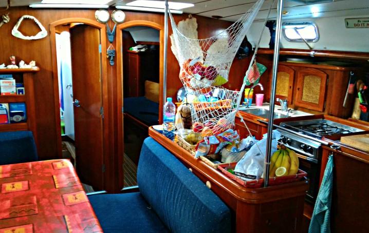 Cosa si mangia in barca a vela?