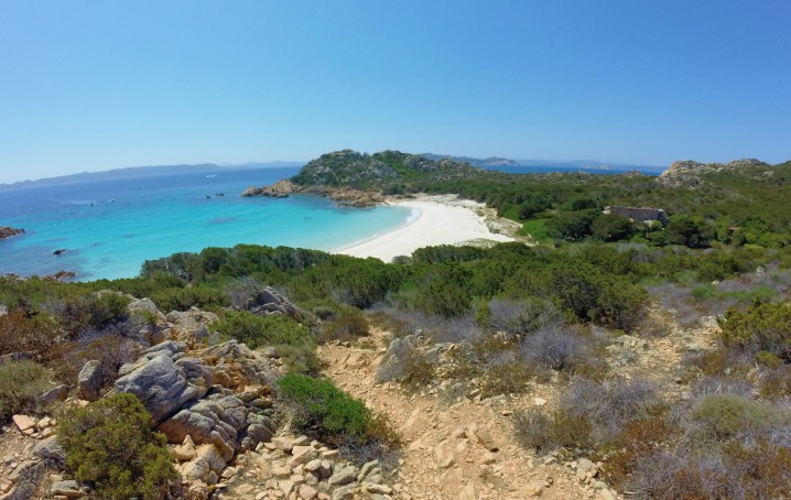 Itinerario Sardegna: spiaggia rosa
