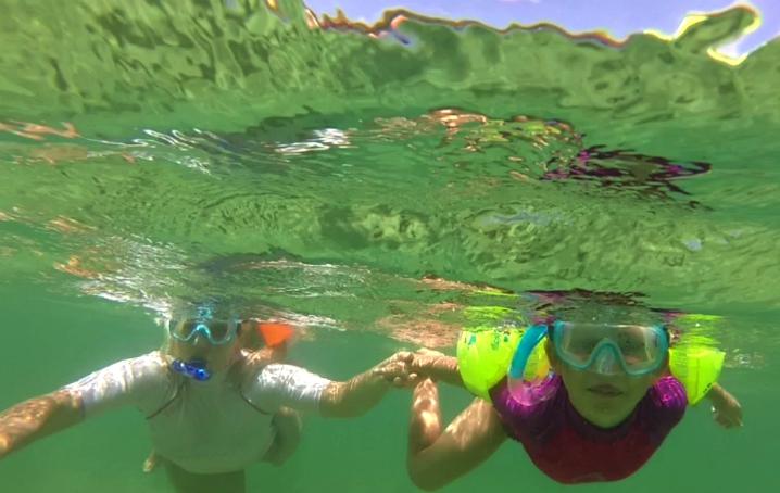 Snorkeling con bambini