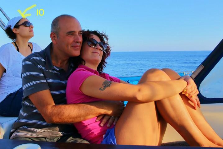 Luna di miele in barca a vela: intimità?