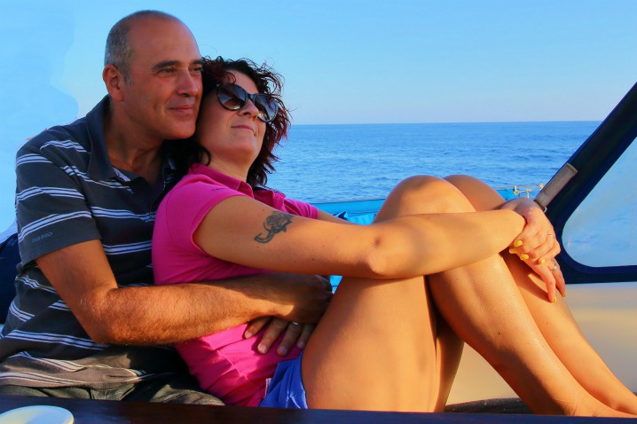 Luna di miele in barca a vela