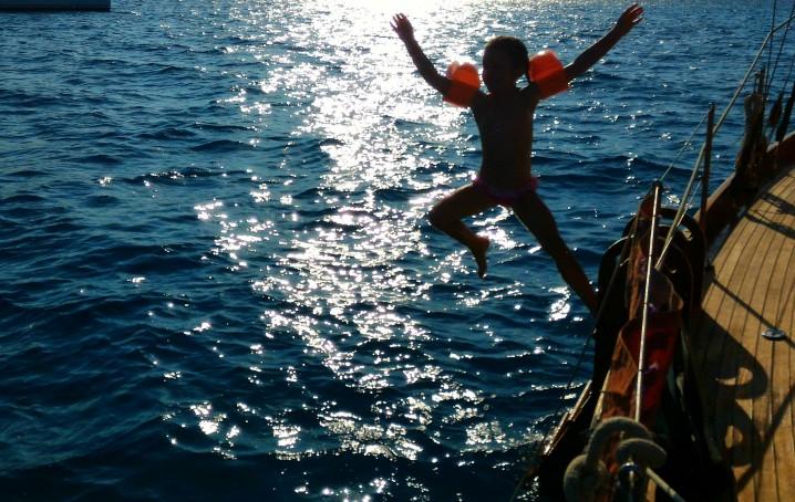 Vacanza in barca a vela con bambini