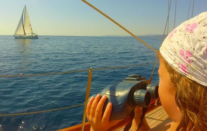 Giochi per bambini in barca a vela