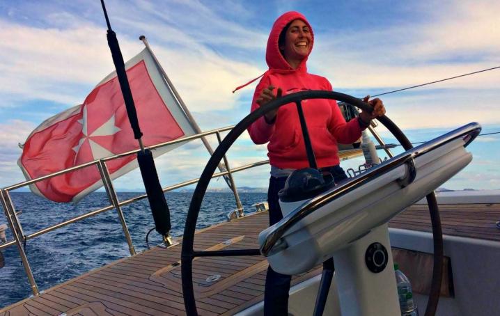 Mollare tutto e partire in barca a vela intervista ad Alessandra Peparini