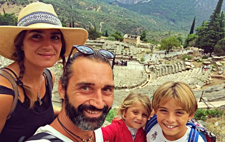 Famiglia che vive in barca a vela: intervista