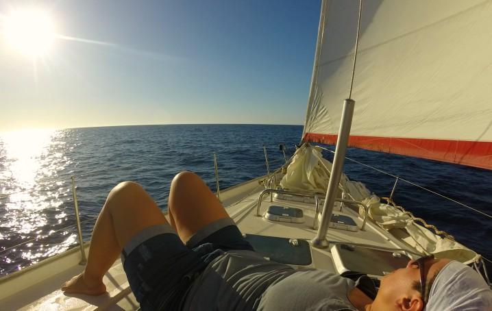 tratta Malaga Lanzarote barca a vela