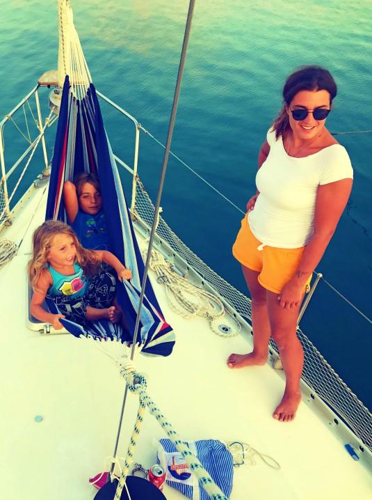 famiglia in barca con bambini: intervista