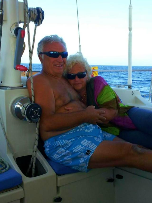 Massimo e Paola navigano insieme da una vita