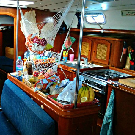 regole cucina in barca