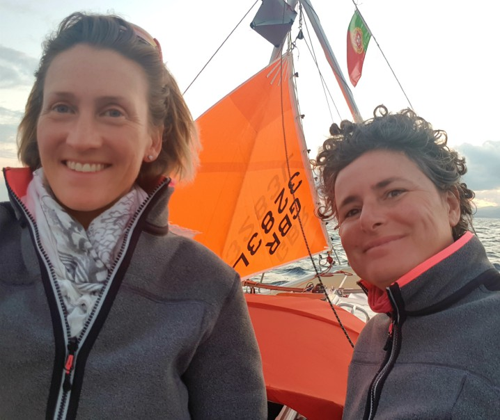 Marina e Jayne in arrivo alle Azzorre