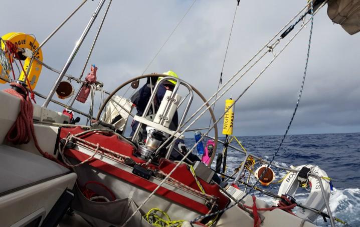 Navigazione durante la regata AZAB