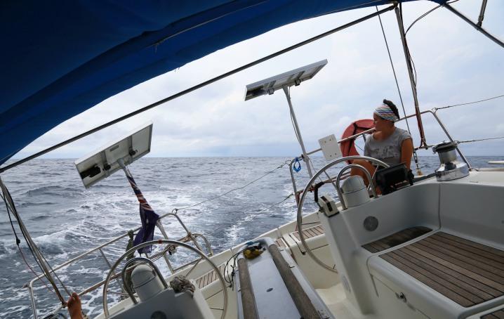 Traversata oceanica in barca Erica Giopp