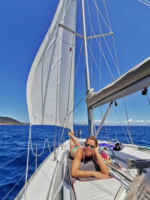 vacanze in barca a vela con la famiglia: intervista a Milena Marchioni