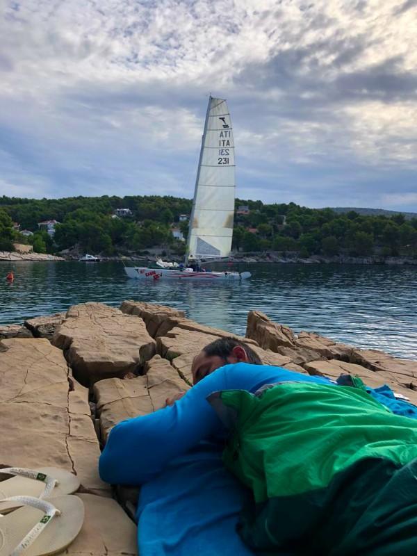 Camping nautico in catamarano