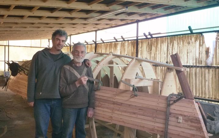 Giuseppe e Luigi consoli: come auto costruire barche a vela in legno