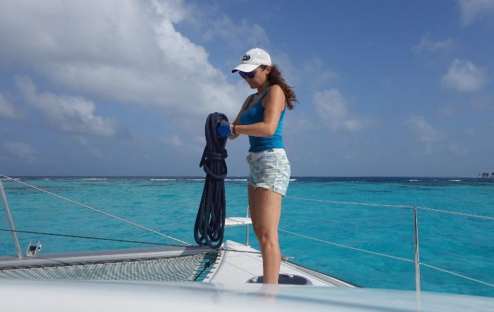 Viaggiare e lavorare in barca: intervista a Stefania Conte