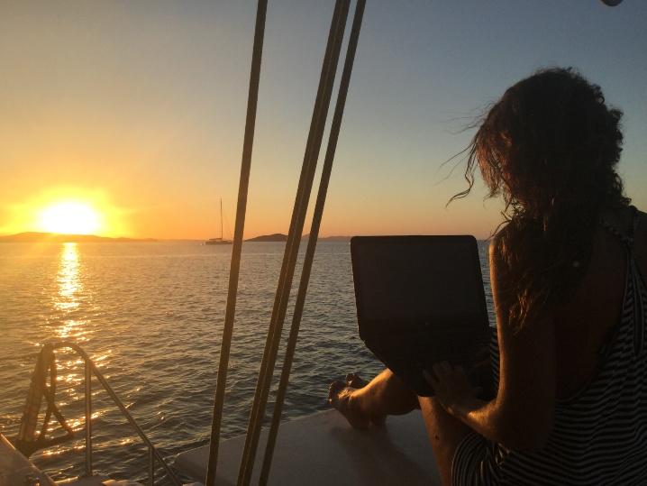 Viaggiare e lavorare in barca